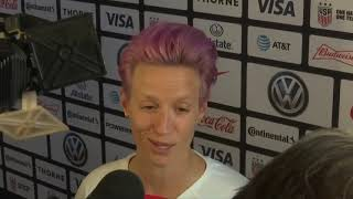 Megan Rapinoe and Alex Morgan hoping for changes off the field as squad begins 'Victory Tour'