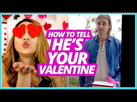 HOW TO TELL if He's Your Valentine w/ Mia Stammer