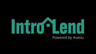 Avenu | IntroLend™ for Real Estate Brokers & Agents