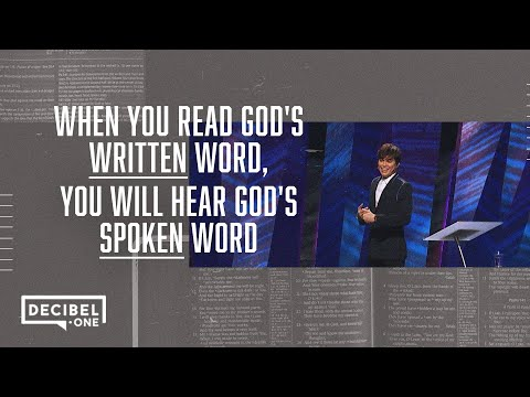 Joseph Prince  The sure way to hear God