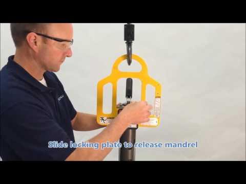 Grippers for Schlumpf Roll Handling Equipment