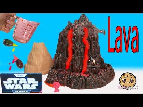Star Wars Science Experiment Mustafar Lava Flowing Erupting Volcano Lab Toy Cookieswirlc Video - UCelMeixAOTs2OQAAi9wU8-g