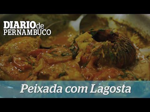 Peixada com Lagosta feita pelo chef Claudemir Barros