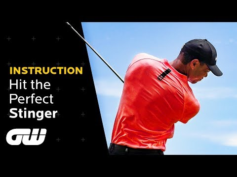 How to Rip a Low Tiger Woods STINGER Shot! | Instruction | Golfing World