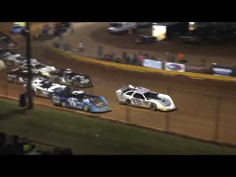 Ultimate Super Late Model at Lavonia Speedway July 2nd 2021 - dirt track racing video image