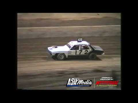 Astra Saloons: A-Main - Archerfield Speedway - 06.09.1997 - dirt track racing video image