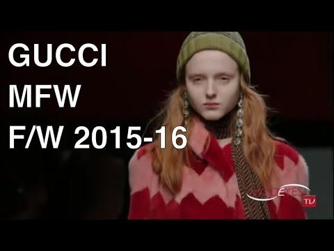 GUCCI |  FALL WINTER  2015 - 2016 | FASHION SHOW HD