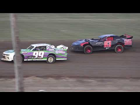 Pro Stock Make-up A-Feature at Crystal Motor Speedway, Michigan on 08-07-2021!! - dirt track racing video image