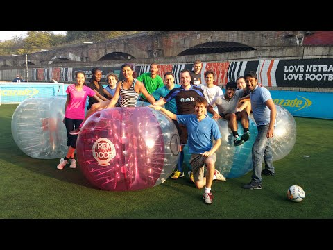 Flubit does bubble football!