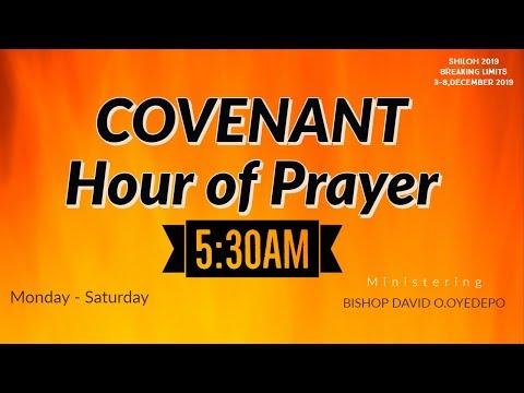 DOMI STREAM: COVENANT HOUR OF PRAYER  6, NOVEMBER  2019