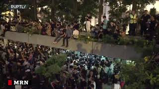 Hong Kong: Anti government protesters hold rally in Chater Garden