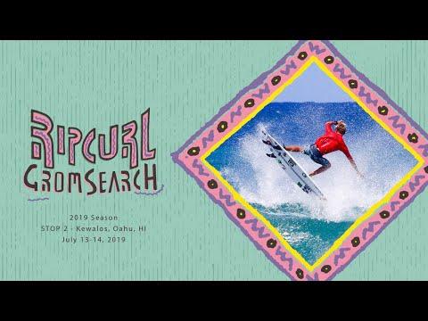 2019 Rip Curl GromSearch Event 2 - Kewalos, Oahu, HI