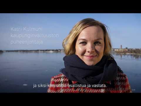 Tornion kaupunginvaltuuston puheenjohtaja, kansanedustaja Katri Kulmuni kertoo, millainen on hänen…