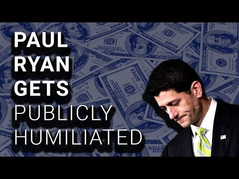 Paul Ryan Brags About $1.50 Raise, Gets Shut Down HARD