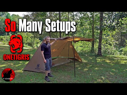 OneTigris Roc Shield Bushcraft Tent - First Look and Thoughts So Far