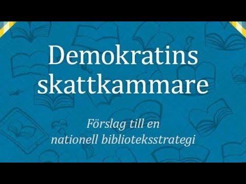 Nationell biblioteksstrategi 7 mars kl. 14.15
