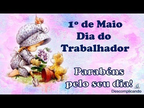 Mensagem de FELIZ DIA DO TRABALHADOR - DIA DO TRABALHO - para whatsapp