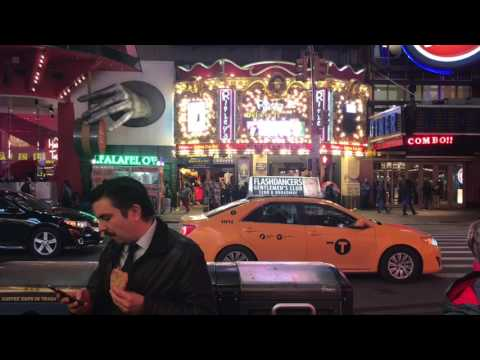 New York  City Times Square: From a tourist point of view
