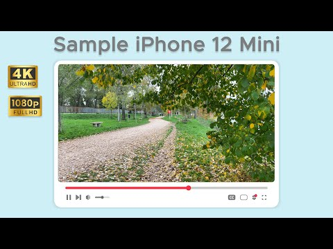 Test di ripresa da iPhone 12 Mini in 4K  …