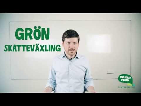 Martin Ådahl om grön skatteväxling