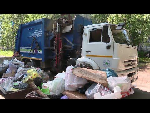 Каждый из нас в год оставляет примерно 400 килограммов мусора
