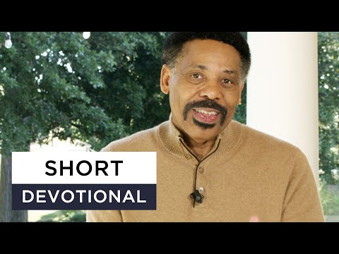 Live With Eternity in Mind - Tony Evans Devotional