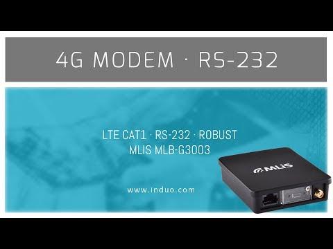 MLIS M-G3003 LTE modem med RS-232