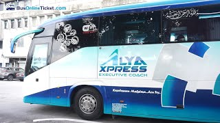 Popular Bus Alya Express | Bus to Butterworth, Kota Bharu, Shah Alam and More