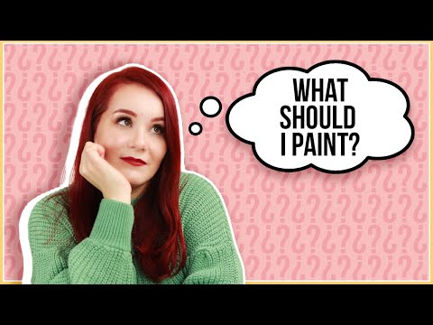 "The REAL Reason For Your ""WHAT-TO-PAINT"" Art Block"