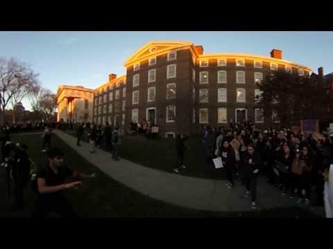 360 video: Brown University Walkout 11/16/2016