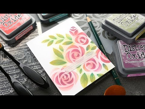 Adding Details to Blended Stenciling
