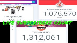 tawhid afridi v/s the ajaira Ltd v/s prank king entraniment