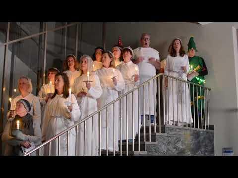 Folktandvården Eastmaninsitutet sjunger luciasånger – 2018