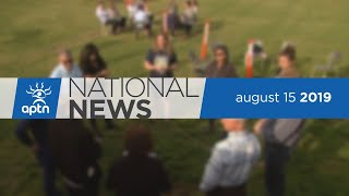 APTN National News August 15, 2019 – How visits to Nunavut will impact election, Getting off grid