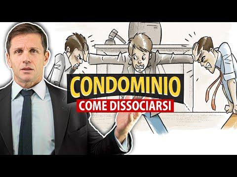 Come DISSOCIARSI dal CONDOMINIO   Avv. Angelo Greco
