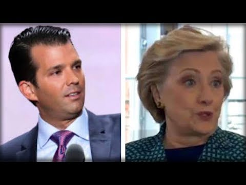 ON HER BIRTHDAY DON JR HANDED HILLARY THE WORST NEWS OF HER LIFE AND AMERICA LAUGHED IN HER FACE