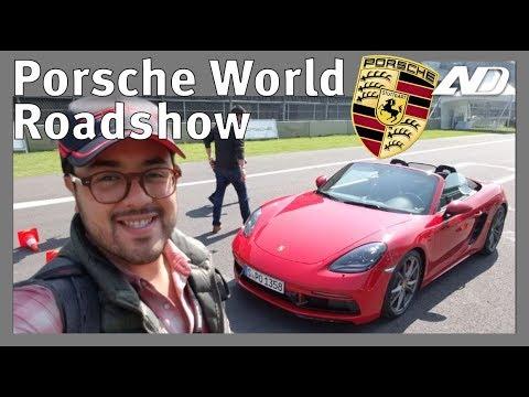 Manejé toda la linea de Porsche en el Autódromo - Porsche World Roadshow
