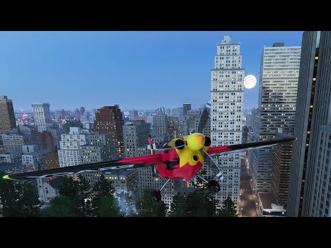 AIRPLANE STUNTING IN NYC! - The Crew 2 Beta Gameplay (PS4 Pro)