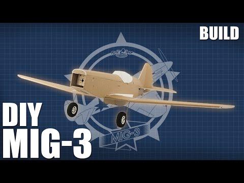 DIY FT MiG-3 - Build | Flite Test - UC9zTuyWffK9ckEz1216noAw