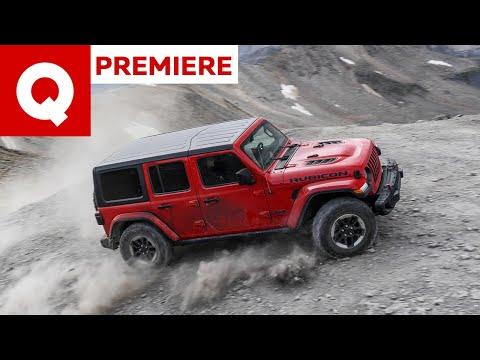 Nuova Jeep Wrangler, la prova in off-road estremo sulle vie dell'oro!