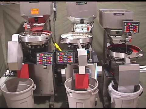 26 year old BMII Counter compared to the first generation continuous feed counters