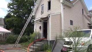 VIDEO NOW: Two alarm fire in Providence