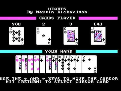 Hearts (Martinsoft) (MS-DOS) [1989] [PC Longplay]