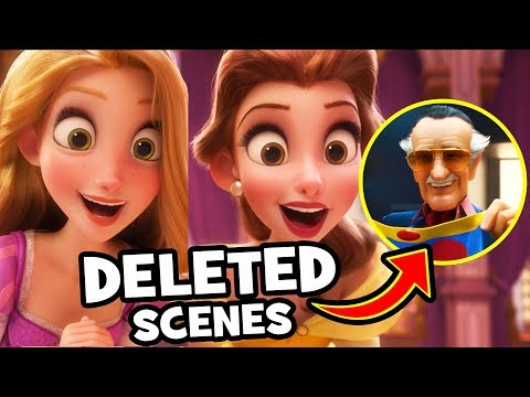 EVERYTHING DELETED From Ralph Breaks The Internet: Wreck-It Ralph 2! - UCS5C4dC1Vc3EzgeDO-Wu3Mg