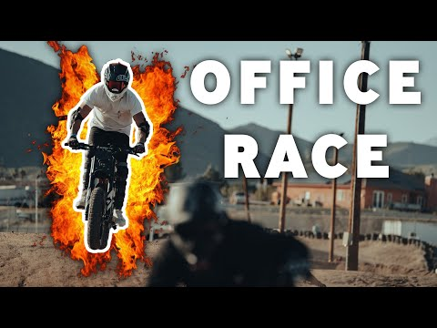 SUPER73 Office Race!