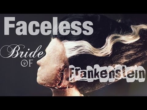 Faceless Bride Of Frankenstein Makeup Tutorial Audiomanialt