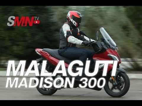 Prueba Malaguti Madison 300 2020 [FULLHD]