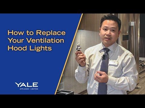 Replacing Ventilation Hood Lights
