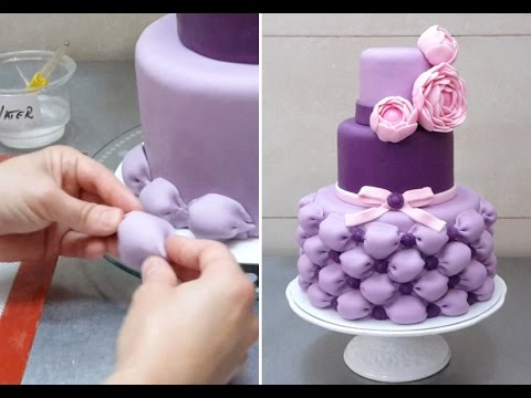 How To Make Billowing Pillows for a Wedding Cake *Decorar con Fondant - UCjA7GKp_yxbtw896DCpLHmQ