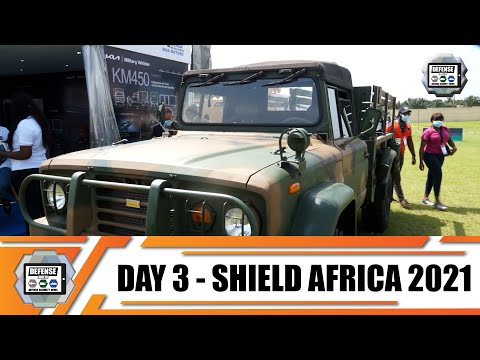 ShieldAfrica 2021  News Show Daily Day 3 Security and Defense Exhibition in  Abidjan Côte d'Ivoire
